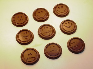 Milk Chocolate Smileys