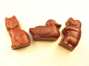 Milk Choc animals